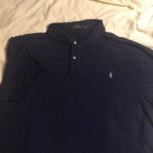 Polo Ralph Lauren, 4XB, Navy Polo